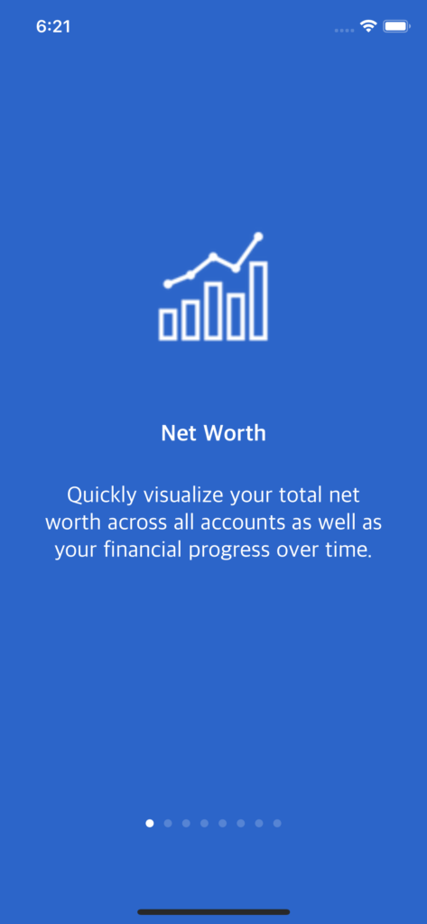 finance app template ios