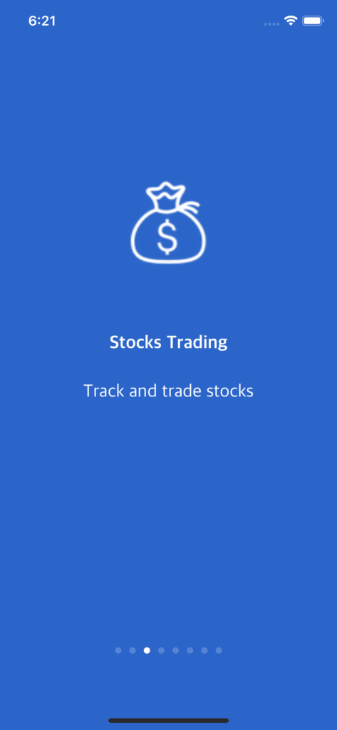 swift finance app template