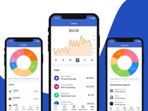 finance app template