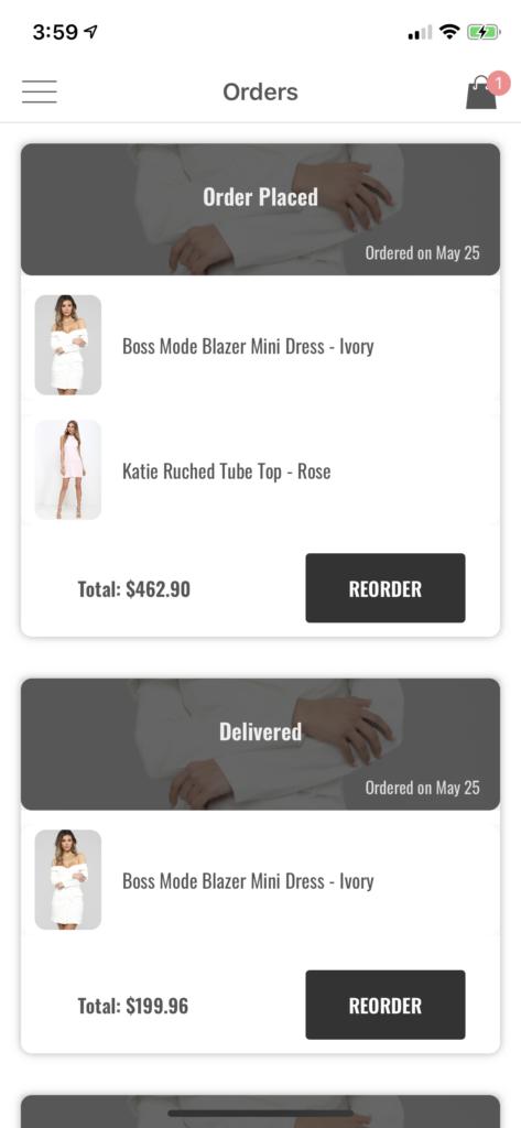 shopping ui kit iPhone