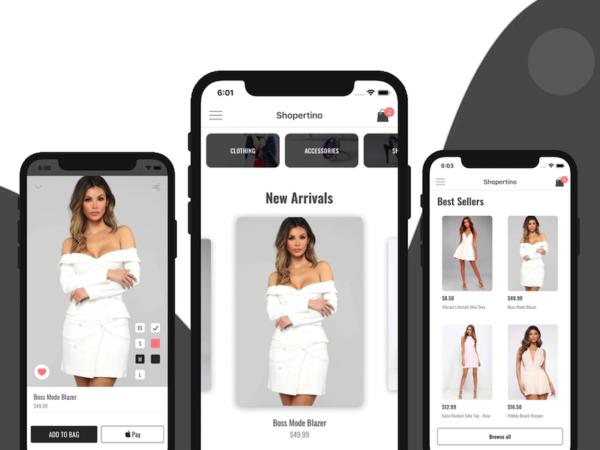 ecommerce iOS app template