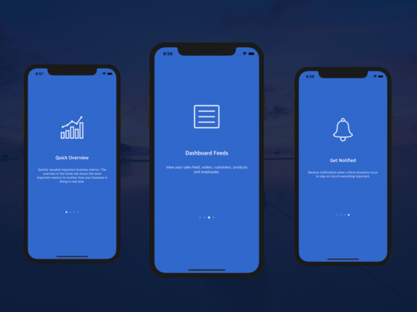 ios onboarding walkthrough flow swift tutorial screens new users