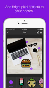 photo editing iOS app template