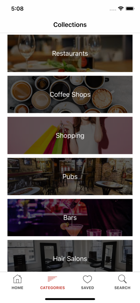 shop locator iPhone app template app design swift backend yelp clone foursquare