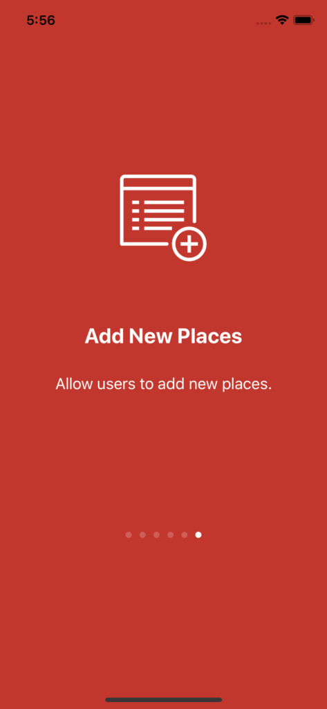 yelp clone app walkthrough onboarding
