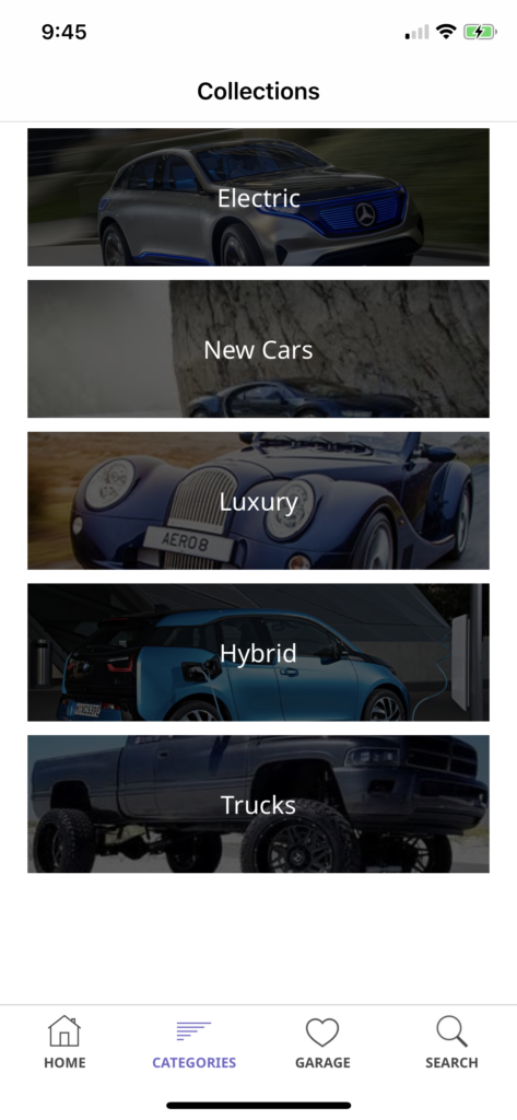 car selling app template