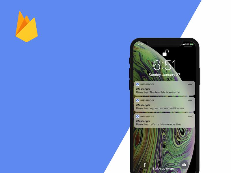 firebase push notifications swift 5 iOS