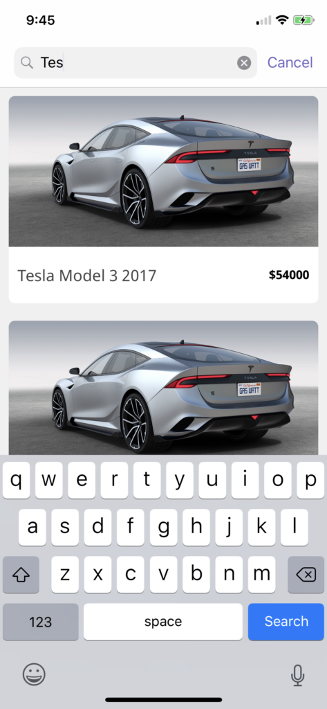 ipad car dealer app