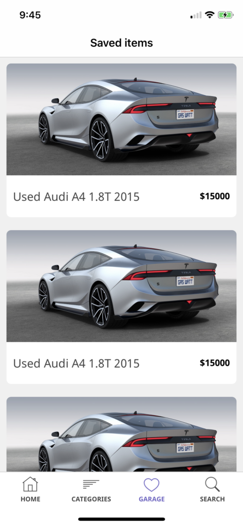 iphone car dealer app