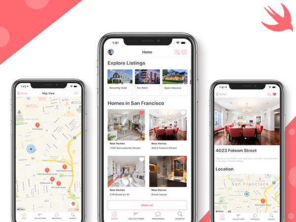 real estate iphone app template