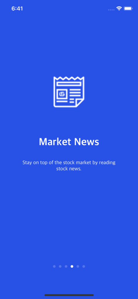 stocks trading ui kit