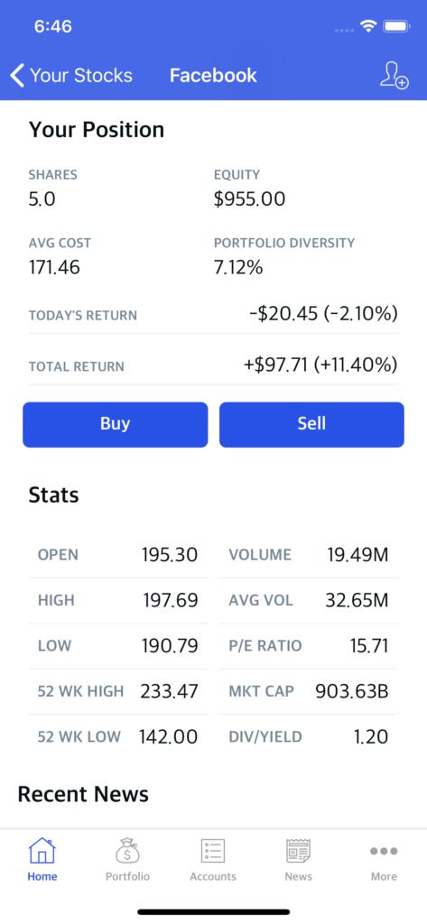 stocks trading theme