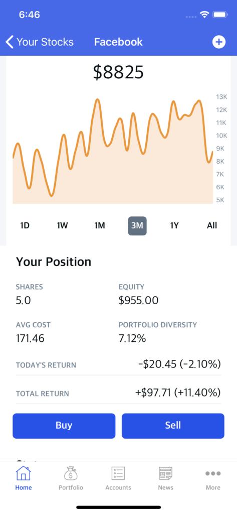 stock trading app kit