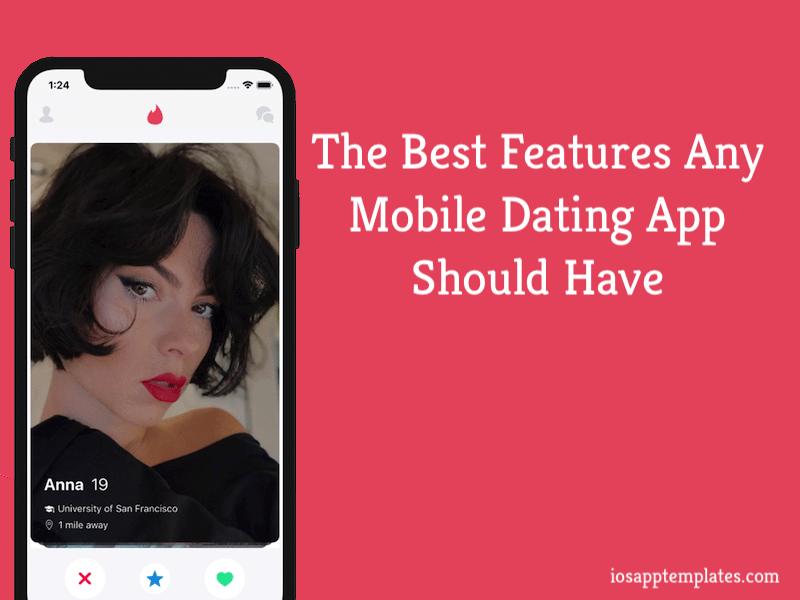 mobile dating app features