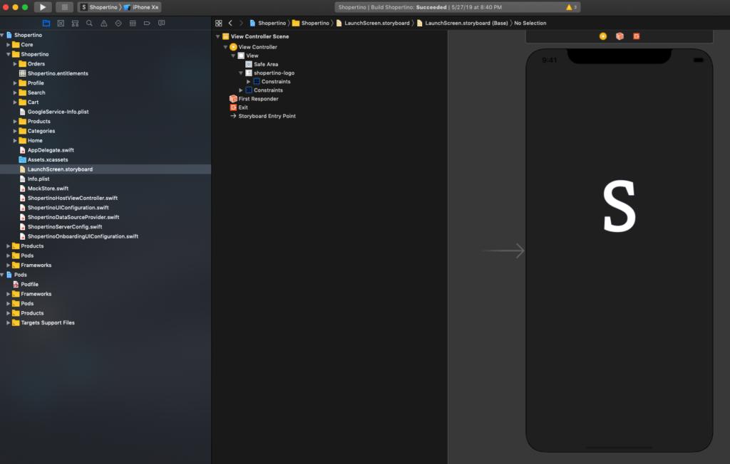 ecommerce iOS app development
