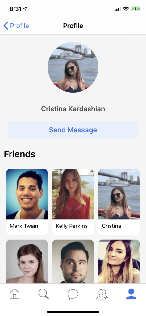 photo sharing app template