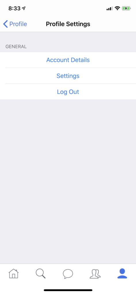 twitter clone app iOS