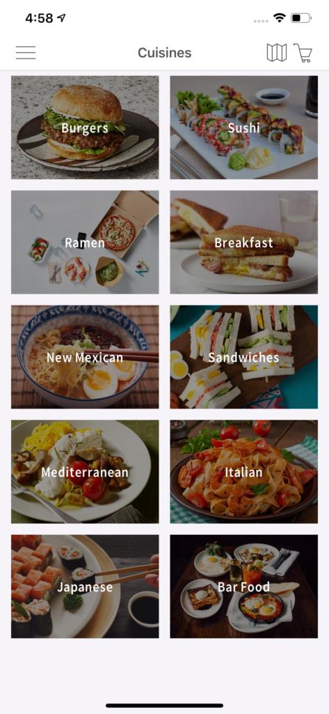 uber eats app template