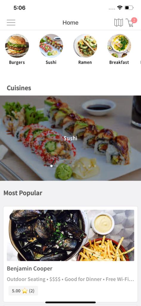 uber eats templates