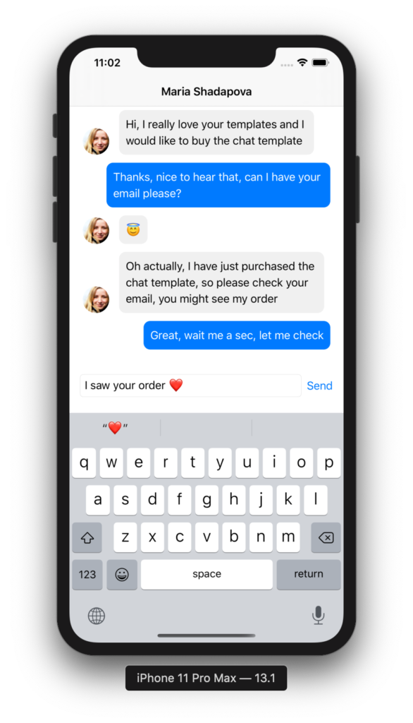 How To Make A Chat App For Ios In Swiftui Ios App Templates